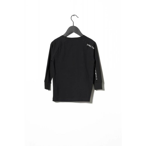 Sometime Soon Jonas L/S T-shirt 80130662 | Black
