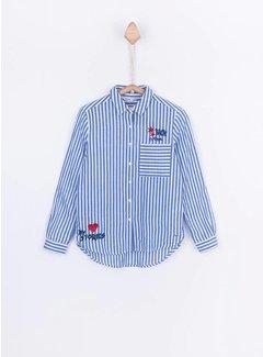 TIFFOSI Carla shirt 10024768 | C001 white