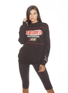 LA SISTERS Motocross Sweater | Black