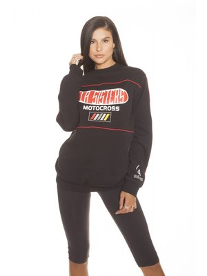 LA SISTERS Motocross Sweater | Black