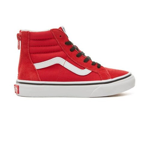 VANS UY SK8-HI ZIP | RACING RED/BLACK
