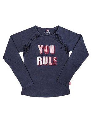 Little Miss Juliette 10-1102 You rule NVY 1 Long-Sleeve