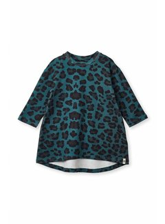 Popupshop Wrinkle Dress 1403_182 | GREEN LEO