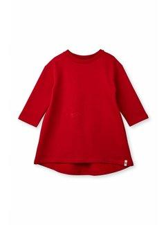 Popupshop Wrinkle Dress 1403_182 | Haute Red