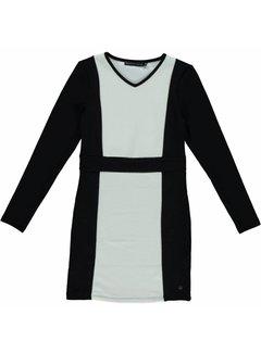 Frankie&Liberty Glow dress | black/offwhite