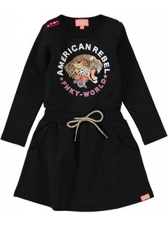 FunkyXS GM TIGER DRESS BLACK