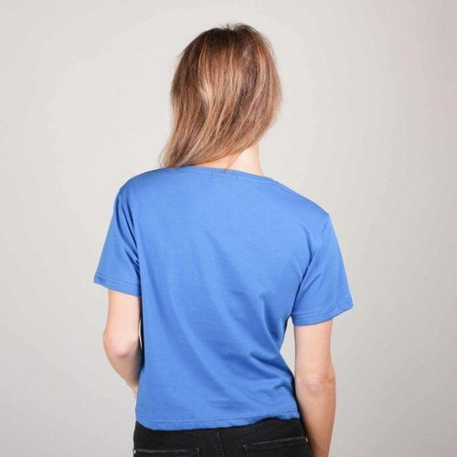 Colourful Rebel 5089 - MADEMOISELLE CROPPED TEE