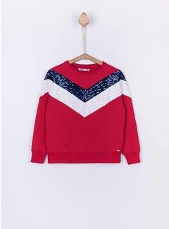 TIFFOSI Louise sweater 10024063 | C505 red