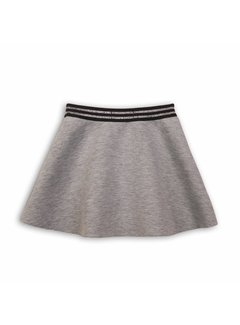 MINOTI NEOPRENE SKIRT | grey marl