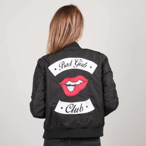 Colourful Rebel 5071 - BAD GIRLS CLUB BOMBER