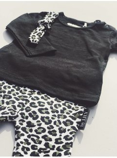 by LILY LE01 Legging leopard   army