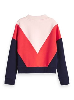 Scotch R'Belle Sweater 148015 | pink red blue