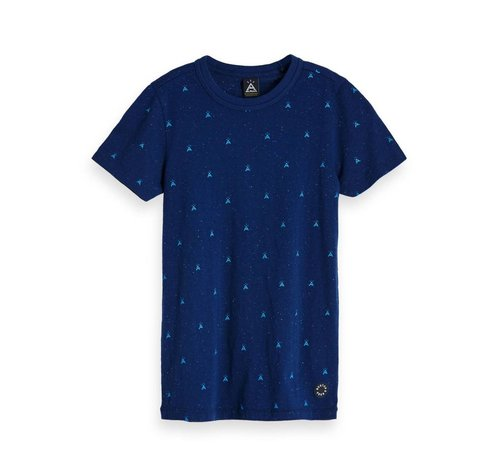 Scotch Shrunk T-SHIRT 147963 | 421 blue