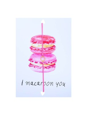 Postcard Macarons