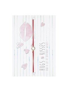 Postcard Birthday Hugs And Kisses