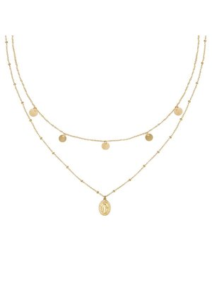 Necklace Mary Go Round