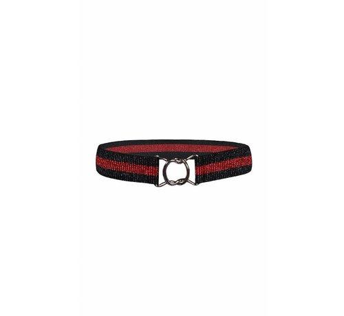 D-XEL ELASTIC BELT 4511898 | black/red