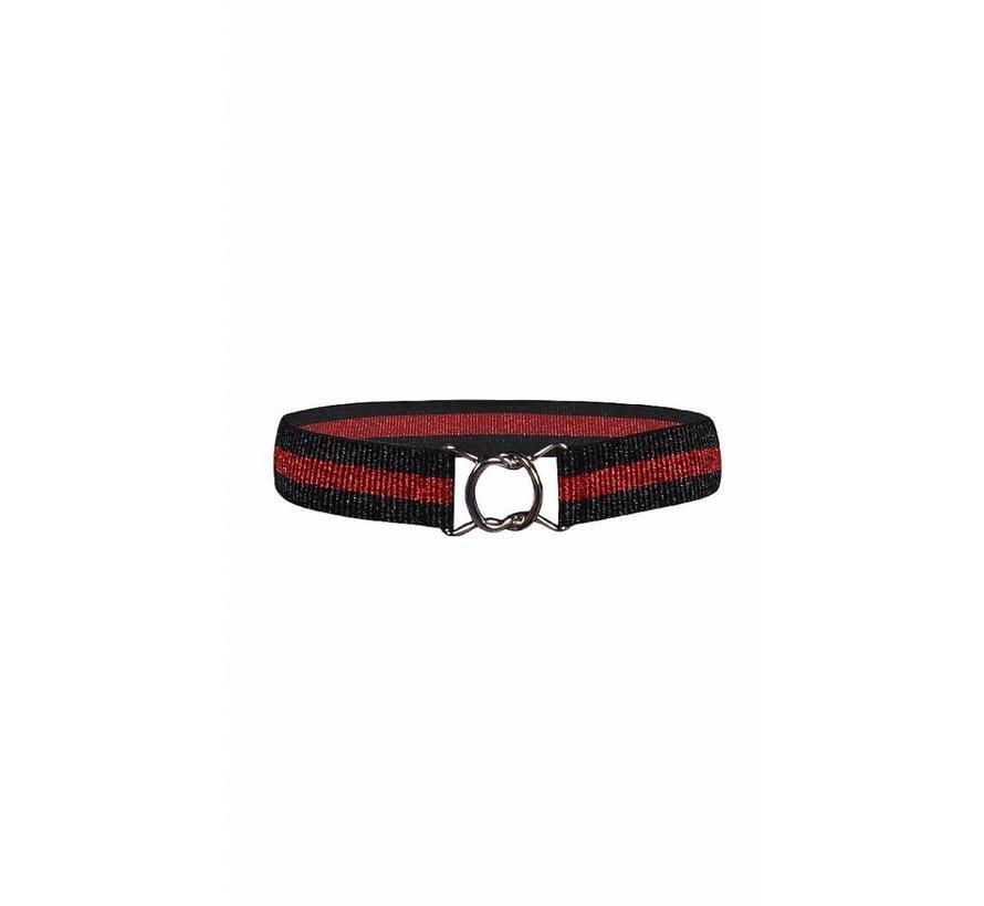 ELASTIC BELT 4511898 | black/red