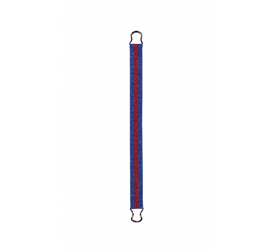 ELASTIC BELT 4511898   blue/red