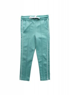 AMMEHOELA Track pants Pool Green