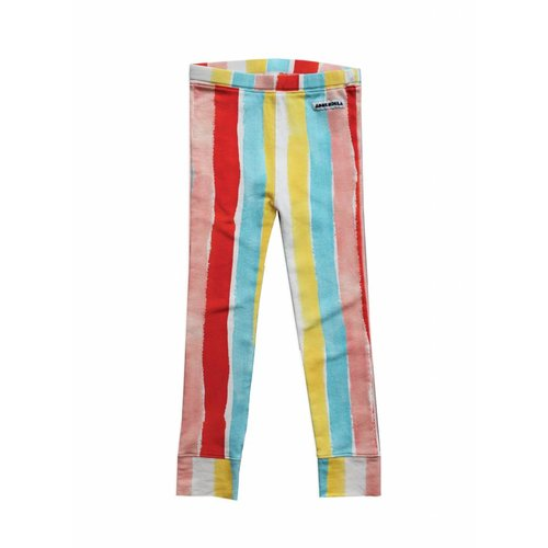 AMMEHOELA Legging Rainbow print