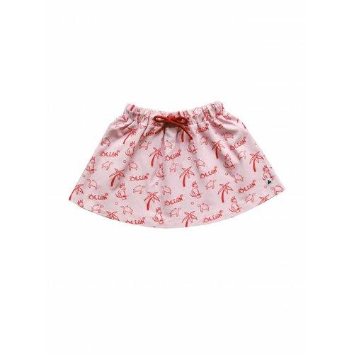 AMMEHOELA Sweat skirt Ocean print