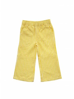 AMMEHOELA Woven Loose pants Yellow