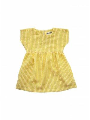 AMMEHOELA Woven dress Yellow