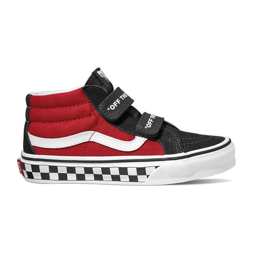 VANS UY SK8-Mid LOGO POP  | black/true white