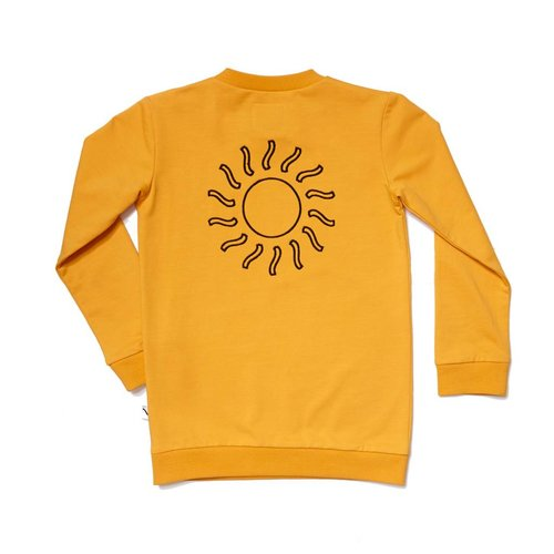 CarlijnQ BS09 big sun - sweater + embroidery