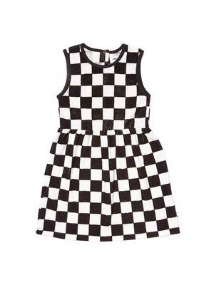 CarlijnQ CH16 checkers - tanktop dress