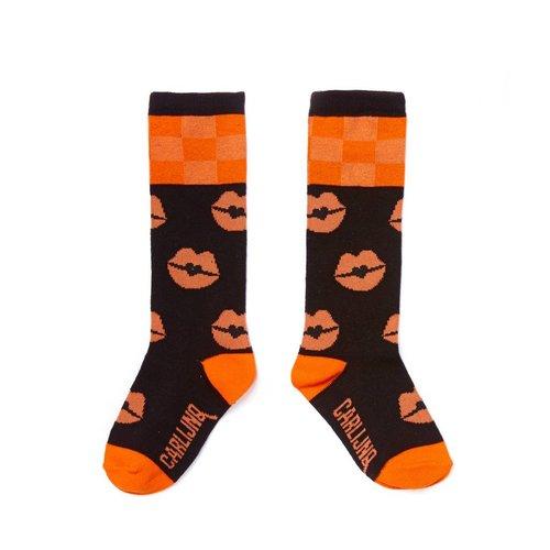 CarlijnQ KN86 knee socks - kiss goodbye