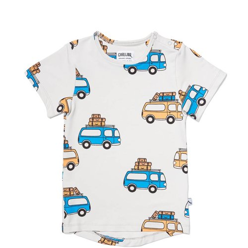CarlijnQ RT64 road trippin' - t-shirt short sleeve drop back