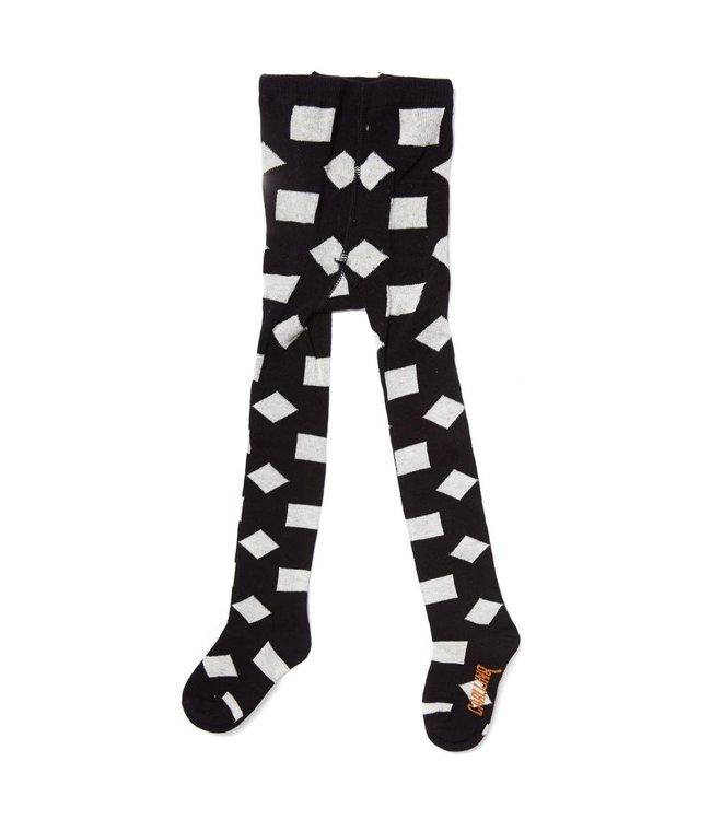 TI91 tights - checkers black / off-white