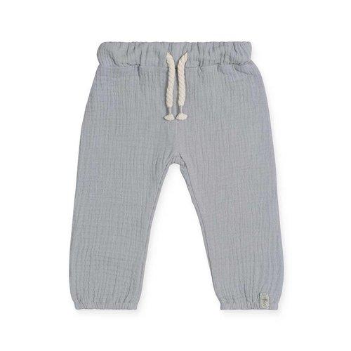 jollein BROEKJE | cotton wrinkled grey
