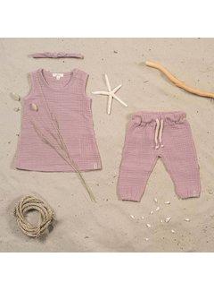 jollein BROEKJE | cotton wrinkled pink