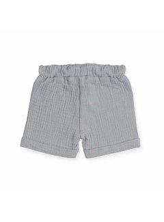 jollein SHORT| cotton wrinkled grey