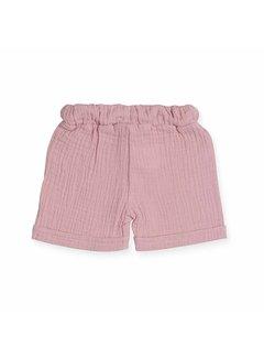 jollein SHORT| cotton wrinkled pink