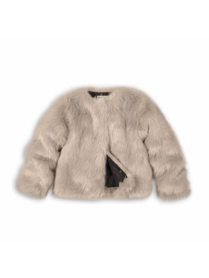 FUR JACKET GREY