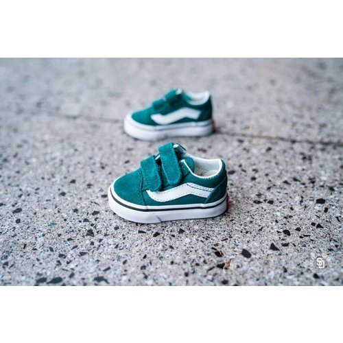 VANS TD Old Skool V QUETZAL | green/true white