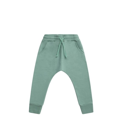 MINGO Slim fit jogger | sea green