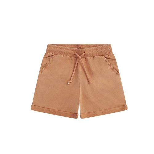 MINGO Short baby sweat | toasted nut