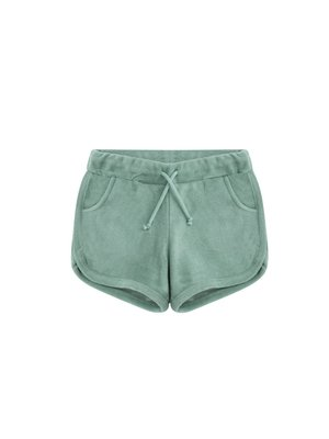 MINGO Short terry | sea green