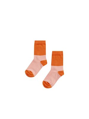 MINGO Socks | peach pink/koi
