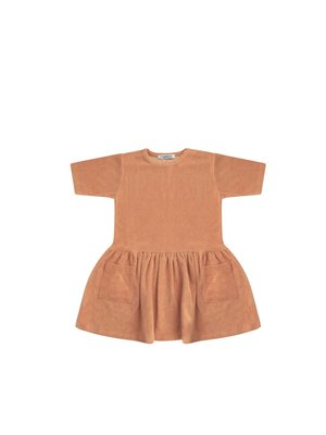 MINGO Dress terry | toasted nut