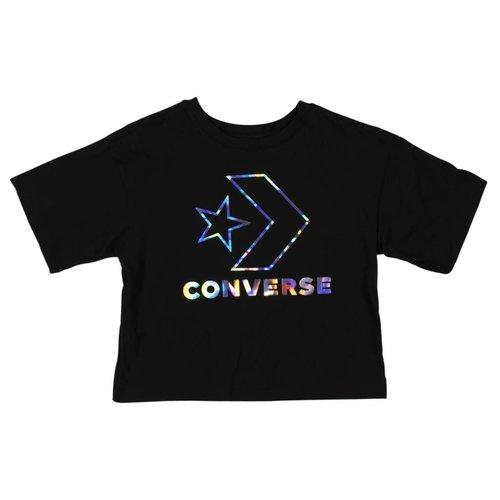 CONVERSE STAR CHEVRON IRIDESCENT BOXY TEE | 023