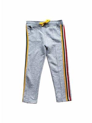 AMMEHOELA Track pants tape | grey melange