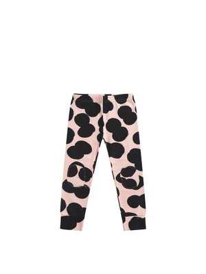 MINGO Legging Double Dot | peach pink/black
