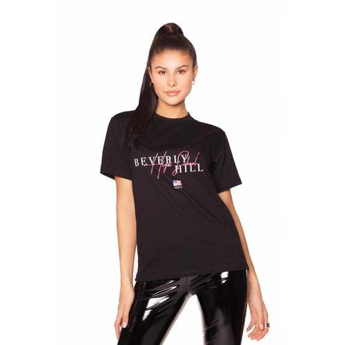 LA SISTERS Beverly Hills TEE | black