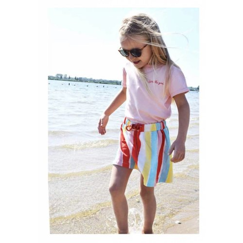 AMMEHOELA Sweat skirt Rainbow print